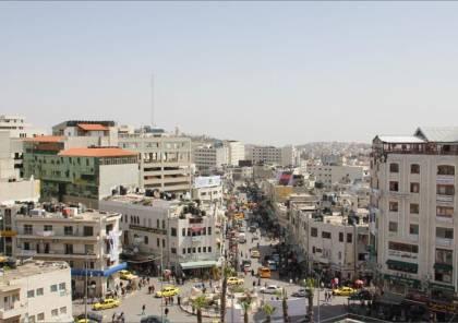 بلدية رام الله تعقم المناطق والبنايات السكنية التي اقتحمها الاحتلال