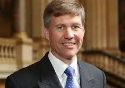 القنصل البريطاني يُجدّد موقف بلاده الداعم لحل الدولتين