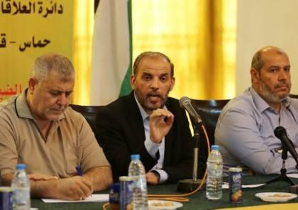 بدران يصف علاقة حماس والجهاد بـ المتينة: متفقون على قرار سياسي واحد