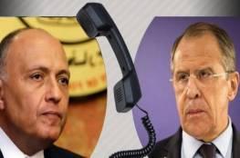 توافق مصري روسي على ضرورة توقف إسرائيل عن مهاجمة غزة