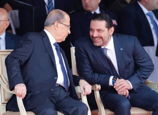 الحريري و عون