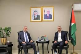 الشيخ يلتقي وزير الحكم المحلي