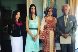 السفيرة صبح تقدم أوراق اعتمادها للحاكم العام لسانت لوشيا