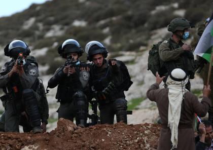 إصابة مواطنين برصاص الاحتلال في دير أبو مشعل