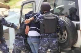 الشرطة تقبض على شخصين صادر بحقهما 11 مذكرة قضائية في جنين