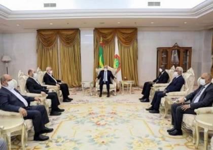 تفاصيل اجتماع هنية مع الرئيس الموريتاني محمد ولد الشيخ الغزواني