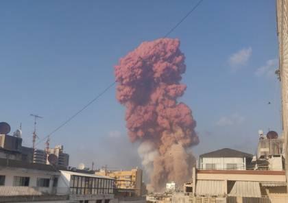 """خبير كيميائي يتحدث عن """"السحابة البنية والحمراء السامة"""": انفجار بيروت يبدو حادثا!"""