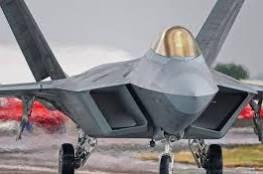"""مسؤولون إسرائيليون: صفقة شراء """"إف-22"""" الأمريكية ليست على الطاولة حاليا"""