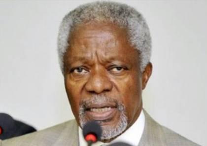 وفاة كوفي عنان الأمين العام الاسبق للأمم المتحدة
