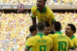 البرازيل تتصدر مجموعة أمريكا الجنوبية المؤهلة لكاس العالم في قطر 2022