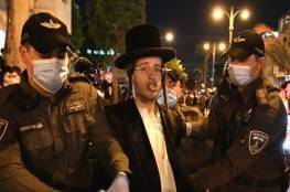 استمرار المواجهات بين الشرطة والحرديم في مدينتي بني براك والقدس