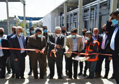 """غزة: افتتاح المرحلة الثالثة من محطة """"تحلية"""" الوسطى بقيمة 18 مليون دولار"""
