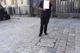 الاحتلال يبعد مقدسيا عن المسجد الأقصى لخمس أشهر