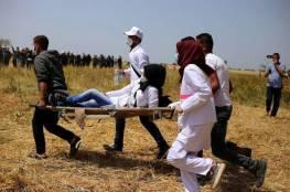 مركز حقوقي يطالب بوقف استهداف الطواقم الطبية بمسيرات العودة