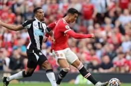 رونالدو يقود مانشستر يونايتد لفوز ساحق على نيوكاسل في ظهوره الأول