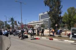 إصابة إسرائيلية في عملية طعن شرق تل ابيب و اطلاق النار على المنفذ