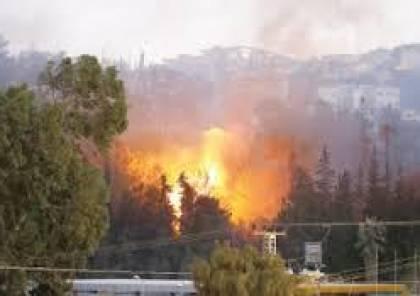 شكوك أمنية إسرائيلية: بعض الحرائق قرب المستوطنات أشعلها فلسطينيون