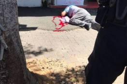 صور: طعن شرطي اسرائيلي في نتنايا وإطلاق النار على المنفذ