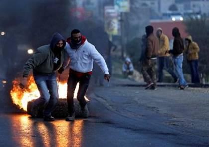اصابات برصاص الاحتلال في عابود