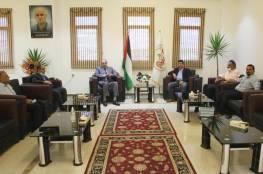 غزة : جامعة الإسراء تستقبل وفدًا من شركة فيوجن