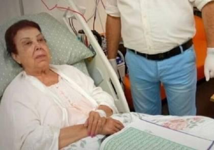 مصر.. الفنانة رجاء الجداوي تغضب بشكل كبير في مستشفى العزل بسبب صورة