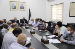 رئيس سلطة المياه يبحث أفق النهوض بالواقع المائي في محافظة قلقيلية