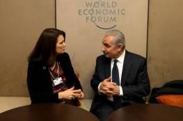 اشتية: الاعتراف الأوروبي بفلسطين ضرورة في ظل التهديدات الإسرائيلية بالضم