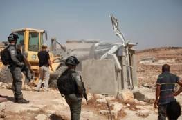 السلطات الإسرائيلية تهدم منزلا لعائلة النقيب في اللد