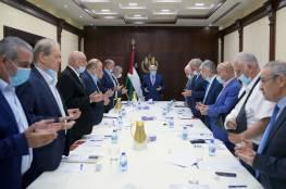 الرئيس يكشف تفاصيل اجتماعه مع غانتس.. وتنفيذية المنظمة تؤكد أهمية ترتيب الأوضاع الداخلية