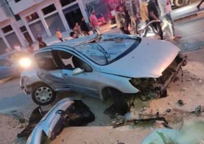 مصرع فتاتين وإصابة 4 بحادث سير في الخليل