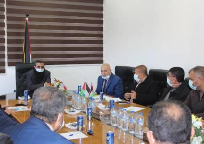 وزارة الاتصالات بغزة تناقش محددات العمل للعام 2021