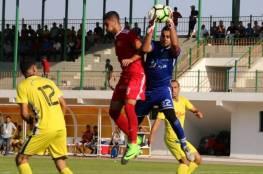 الأهلي يتفوق على بيت لاهيا في دوري الأولى