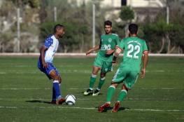 4 مباريات في دوري غزة اليوم