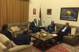 ابو هولي يبحث مع رؤساء اللجان الشعبية احتياجات المخيمات في لبنان