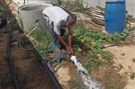 الإغاثة الزراعية بغزة تنقذ المزروعات الحدودية بالري المنخفض