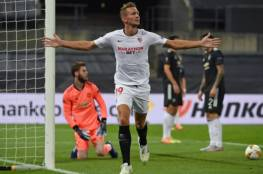 إشبليية يقصي مانشستر يونايتد ويتأهل لنهائي الدوري الأوروبي