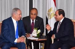 معاريف: نتنياهو يعتزم زيارة القاهرة ولقاء السيسي..