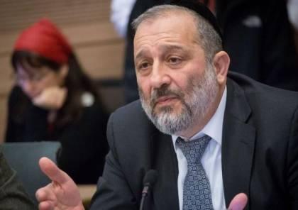 درعي: سنحضر ساعر وبينيت للجلوس بحكومة تحت رئاسة نتنياهو