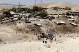 رسميا: الحكومة الإسرائيلية تطلب تأجيل إخلاء خان الأحمر..