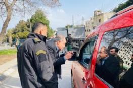 اعتقال 12 مواطنا في نابلس لمخالفتهم تعليمات تقييد الحركة