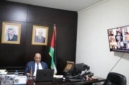 الشلالدة يشارك في اجتماع مجلس وزراء العدل العرب