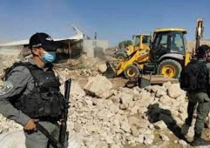الأمم المتحدة وبريطانيا تدينان هدم منازل الفلسطينيين وتهجيرهم في حمصة البقيعة