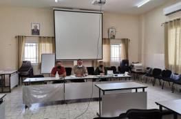 تربية جنين تعقد اجتماعًا لموظفي الصحة الميدانيين