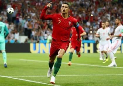 رونالدو يخطف الأنظار في تدريبات البرتغال
