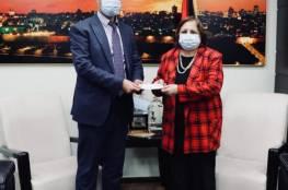 الكيلة تتسلم منحة مالية مقدمة من منظمة التعاون الإسلامي