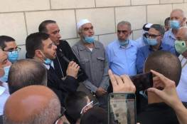 الشيخ رائد صلاح أمام المحكمة: لن نساوم على ثوابتنا والاحتلال إلى زوال