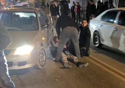 شاهد الفيديو : لحظة دهس رجل امن في العبيدية واصابته بجراح خطيرة