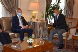 أبو الغيط يؤكد ضرورة إطلاق مسار التسوية النهائية بين فلسطين وإسرائيل
