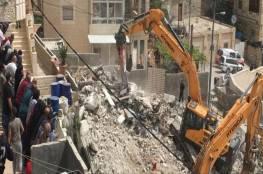تقرير: الاحتلال هجّر 530 عائلة جراء سياسة الهدم