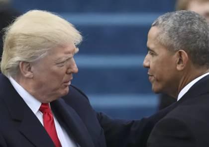 أوباما: رفض ترامب التنازل عن السلطة يضع البلاد على مسار خطير